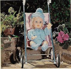 Ready for the Great Outdoors, First Love doll pattern from Checkers Value, March Dolly Fashion, Vintage Dolls, Clothing Patterns, The Great Outdoors, Doll Outfits, Baby Strollers, Doll Clothes, First Love, Africa