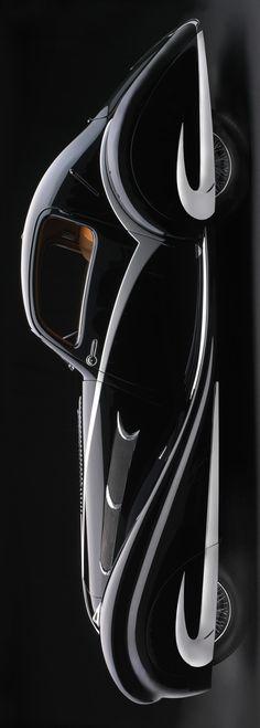 **Delahaye 135M Figoni & Falaschi Competition Coupe, 1936