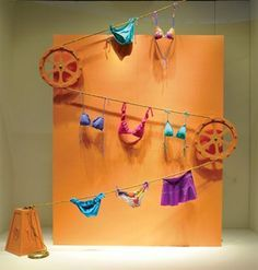 clothes line retail display - Google Search