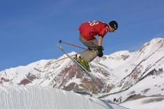 Crested Butte Terrain Park - Enjoy your choice of booters, rails, boxes, or the superpipe at CBMR!