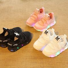 8fa2dba2acf8 2017 cool fashion LED shoes for kids baby Spring Autumn cool baby sneakers  hot sales glowing shinning girls boys shoes.