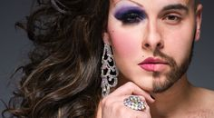 The two faces of a drag queen....awesome article with pictures.... must see