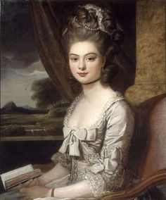 Portrait of Miss Hill, 1770, Sir Nathaniel Dance-Holland
