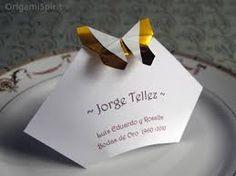 origami bodas - Google Search
