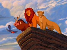 Put these scenes from The Lion King in the order they appear in the movie