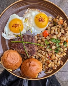 (OC) Steak and eggs breakfast Egg Recipes, Cooking Recipes, Healthy Recipes, Steaks, A Food, Good Food, Best Steak, Steak And Eggs, Antipasto