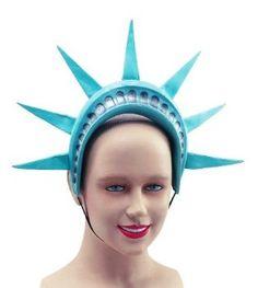 statue of liberty headdress - Google Search