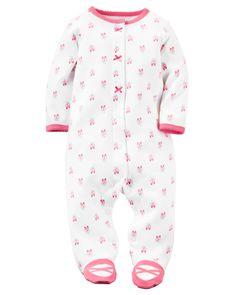 Cotton Snap-Up Sleep \u0026amp; Play   Carters.com Baby Girl Pajamas, 98 Best Girl{PJs} images Toddler girls, Baby, Babys