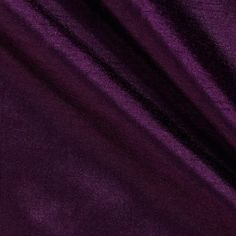 """120"""" Faux Dupioni Majestic Purple from @fabricdotcom  This extra wide, very lightweight faux dupioni silk fabric has a full-bodied drape and slub texture with a sophisticated matte sheen. It is perfect for home decor accents, draperies, swags, pillows and duvet covers. Also perfect for some apparel such as blouses, jackets, skirts and dresses."""