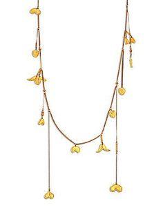Chloé Keira Necklace - Gold - Size No Size