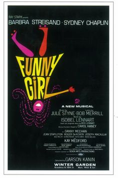 Funny Girl Todays Retro 1964 Fot the Broadway play NOT the movie! Barbra Streisand Click For More Enjoy Steve at Theatregold.com