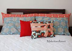 Basic pillow case tutorial.