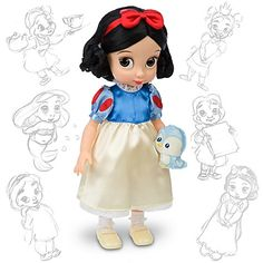 these dolls are so cute- maybe when L-bug gets older.  got her the baby snow white doll for now.