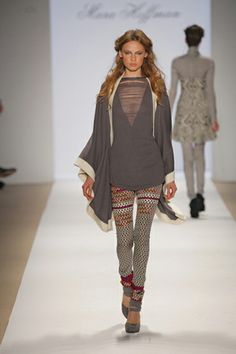 5. Mara Hoffman Fall 2009 runway- modern version of the palla (shawl/scarf)