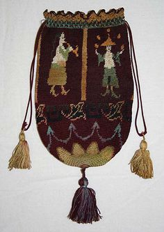 Bag (Pouch)  Date: ca. 1880 Culture: European Medium: silk