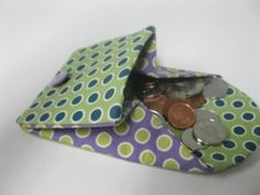 37 #DIY Coin #Purses That Make a Fun #Project Anytime ...