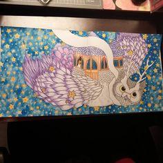 """2nd painting of the time garden #thetimechamber #thetimegarden #dariasong…"