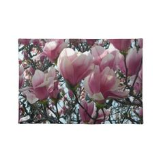 Pink Magnolia Flower Placemat $19.95