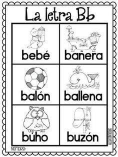 Las Palabras Del Alfabeto {Alphabet portable... by Bilingual Scrapbook | Teachers Pay Teachers