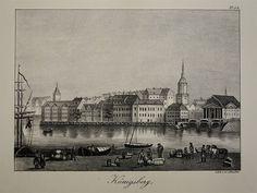 Architektur Königsberg Preußen Halbinsel Samland - Lithographie Studer - 1836