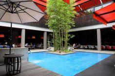 Lounge at With the Style Fukuoka - Fukuoka, Japan