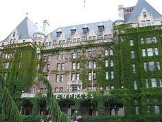 Empress Hotel - Victoria, Canada