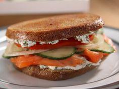 Pressed Bagel Sandwich