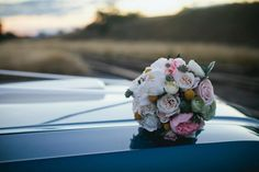 I put together all the flowers using artificial blooms from florabelle. Except for the dried Billy buttons & the fresh succulents. Our Wedding Day, Wedding Blog, Diy Wedding, Wedding Cars, Wedding Flower Arrangements, Wedding Flowers, Special Dresses, Beautiful Stories, The Fresh