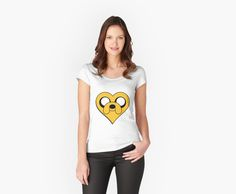 I Luv Jake Adventure Time Heart