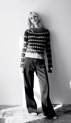 visual optimism; fashion editorials, shows, campaigns & more!: knit picky: julia by matteo montanari for wsj may 2015