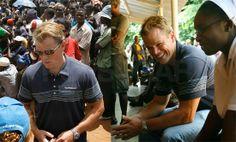 Matt Damon meets South Africa ...