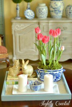 Spring Home Tour + Free Printable