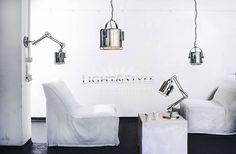 Kaspa MARINE lampka stojąca 40204103 - Sklep Light & Style Wall Lights, Loft, Interior Design, Lighting, Architecture, Inspiration, Home Decor, Nest Design, Arquitetura