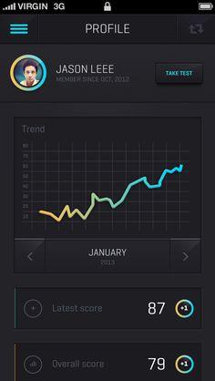IOS 7 app design  #ios7 #appdesign