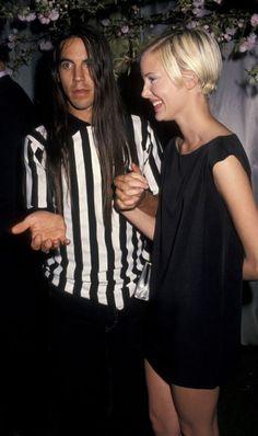 Anthony Kiedis and Jaime Rishar