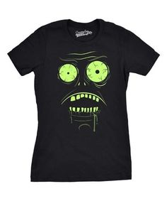 This Black Glow-in-the-Dark Zombie Tee is perfect! #zulilyfinds