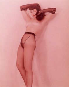 Charles West, Portrait of Bettie Page, 1950's