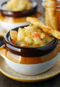 Hearty Chicken Pot Pie Soup
