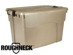 Roughneck Latching Storage Box / Bin | Rubbermaid