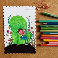 Monila,Monila handmade,postcard,illustrazione,illustration,smail and mail,i ghirigori di Monila