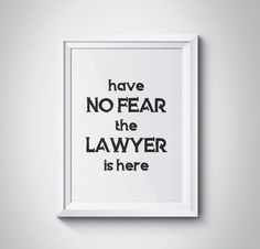 Have No Fear The Lawyer Is Here Attorney Gift Law Graduate Gifts Graduation Offic
