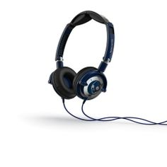 Skullcandy - Lowrider Headphones w/Mic - Navy/Chrome