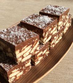 A kedvenc csokoládés kekszkockánk - édes finomság sütés nélkül! - Ketkes.com