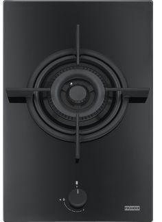 Jednopalnikowa płyta gazowa o długości zaledwie 31 cm (Crystal Black FHCR 301 1TC HE BK C). FRANKE