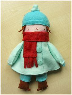 Boum plushie from Elbooga's flickr stream.  So cute.