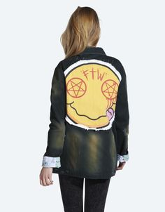 Buy Nevermind Jacket at Drop Dead Clothing #DDXMASWISHLIST