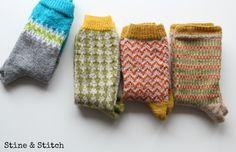 12 Letters of Handmade Fashion: W wie Wollsocken von Stine & Stitch
