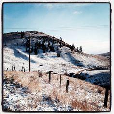 A warm winter day in Kamloops BC Canada Instagram @bmfujita