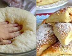 Najlepšie kysnuté cesto - Receptik.sk Beignets, Eclairs, Doughnut, Sweet Recipes, Sweet Tooth, French Toast, Food And Drink, Cooking Recipes, Cookies