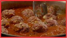 Best Spaghetti And Meatballs Recipe Epicurious.Spaghetti With Sicilian Meatballs Recipe Epicurious Com. Sunday Sauce With Braciole Meatballs And Sausage Recipe . Home and Family Italian Spaghetti Sauce, Best Spaghetti, Spaghetti And Meatballs, Spaghetti Recipes, Pasta Recipes, Chicken Meatballs, Spaghetti Squash, Shrimp Recipes, Fish Recipes